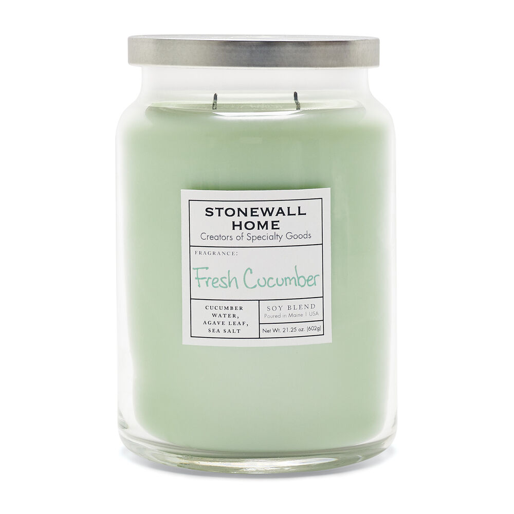 Stonewall Home Fresh Cucumber Candle image number 0