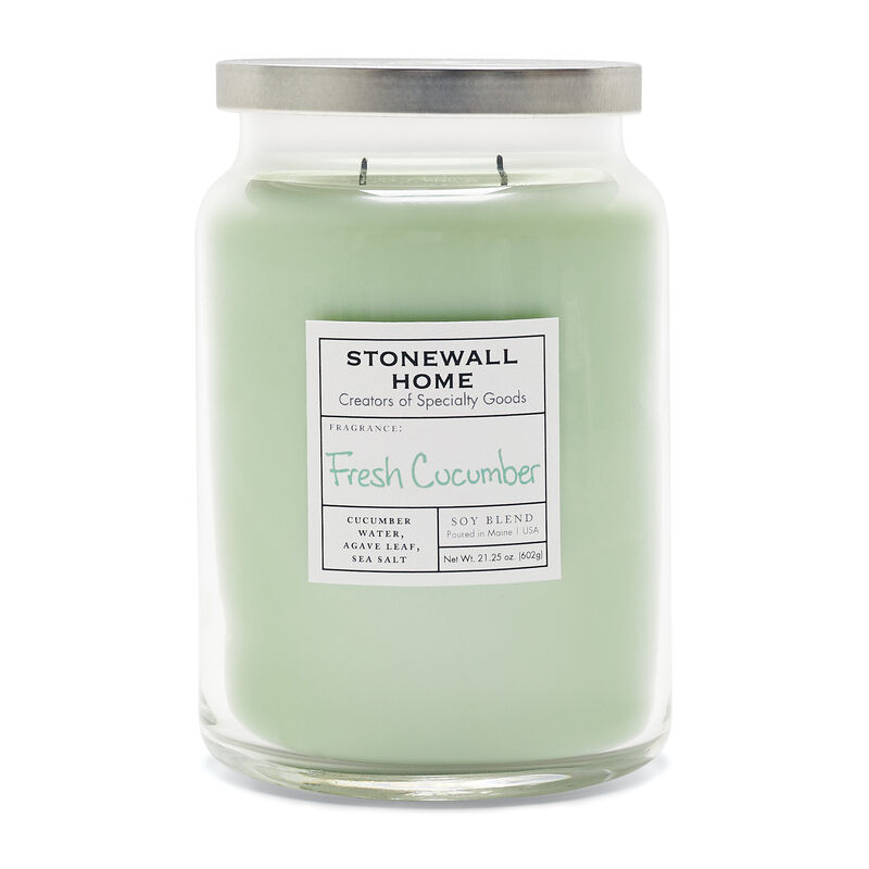 Stonewall Home Fresh Cucumber Candle