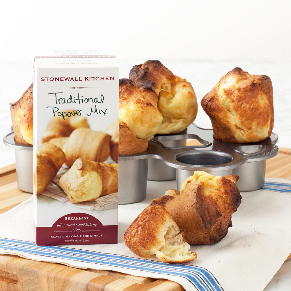 Full Size Popover Pan with Popover Mix image number 0