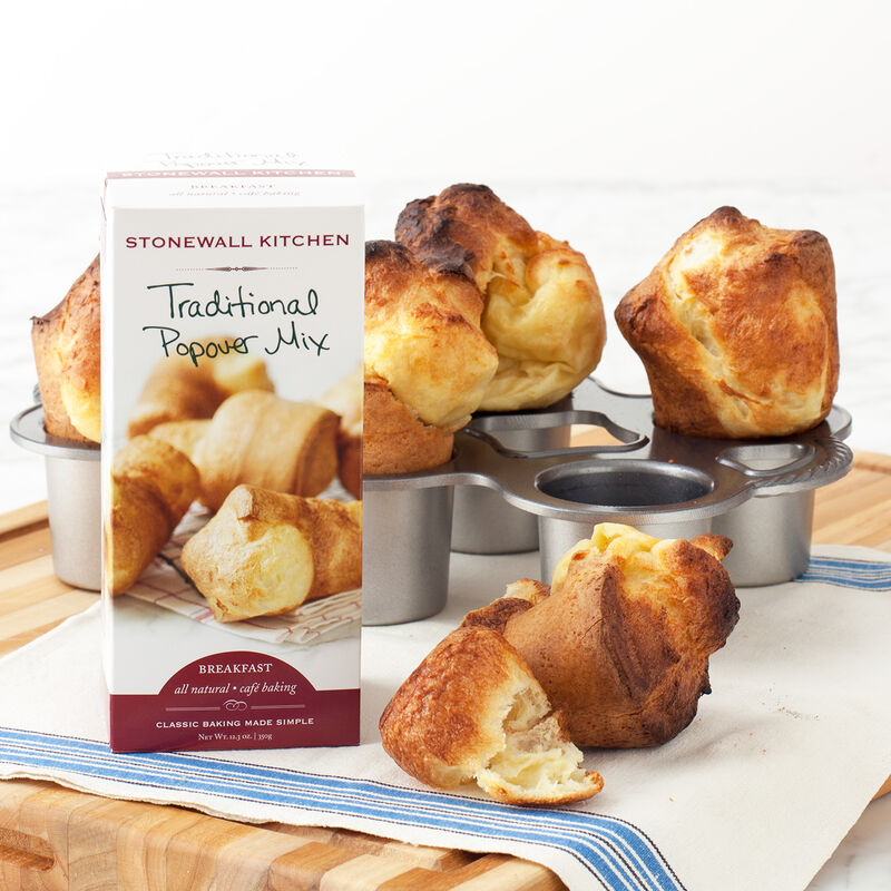 Full Size Popover Pan with Popover Mix