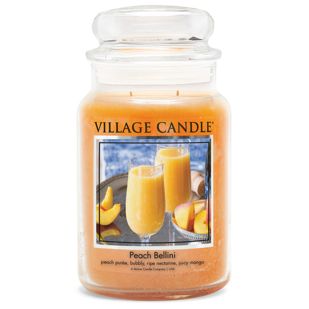 Peach Bellini Candle image number 0