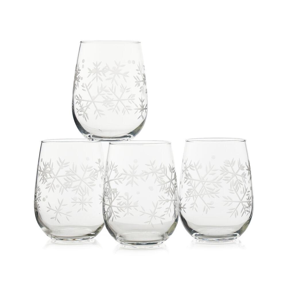 Blizzard Stemless Wine Glasses (Set of 4) image number 0