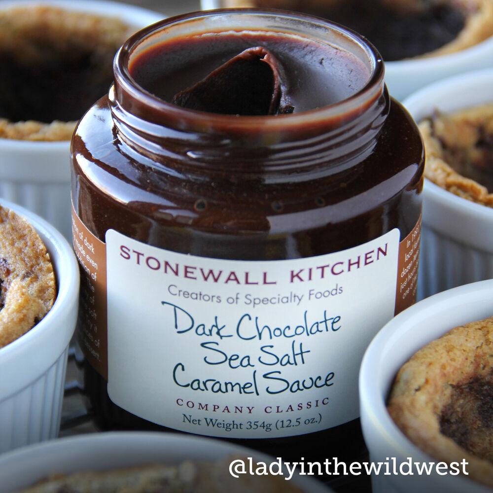 Dark Chocolate Sea Salt Caramel Sauce image number 2