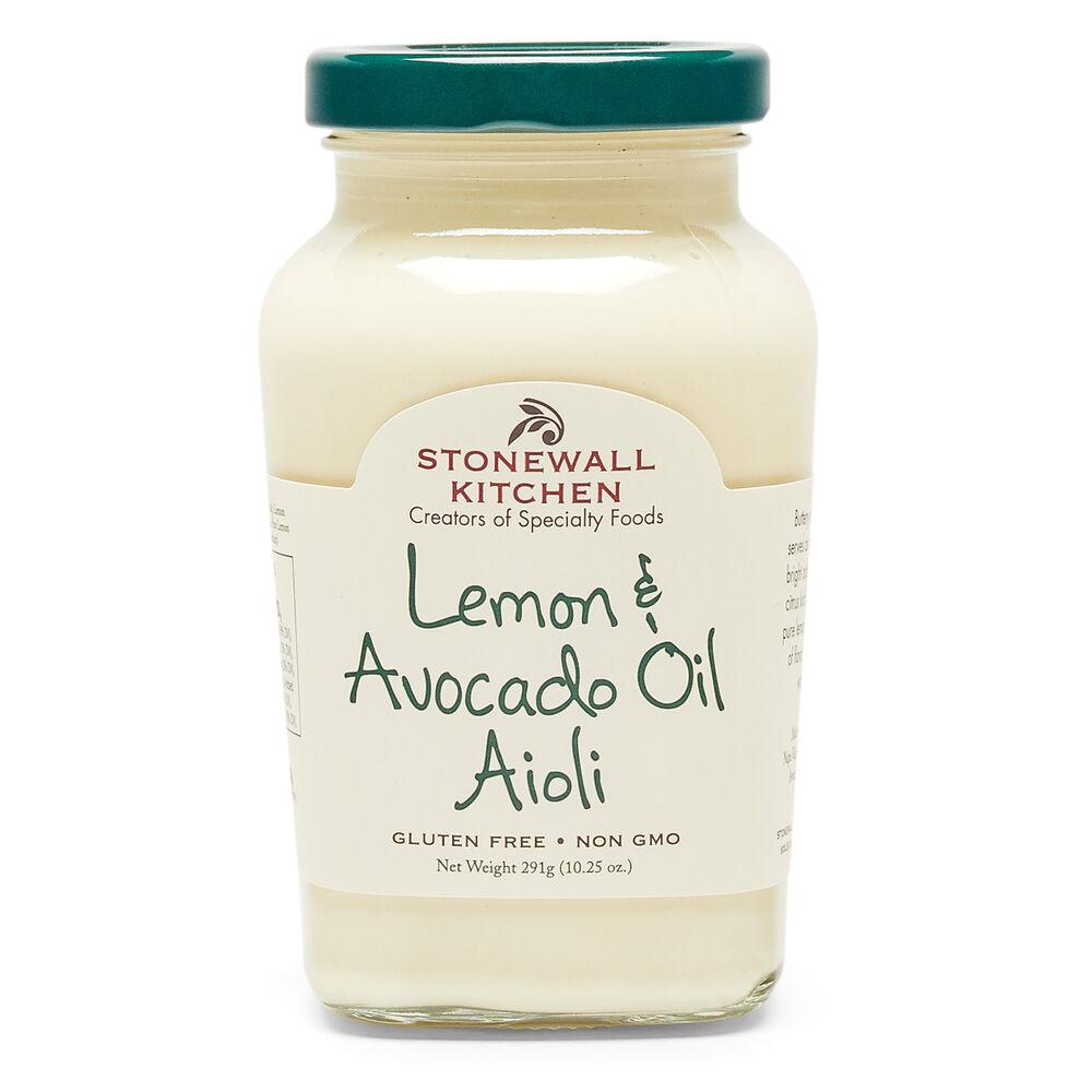 Lemon & Avocado Oil Aioli image number 0