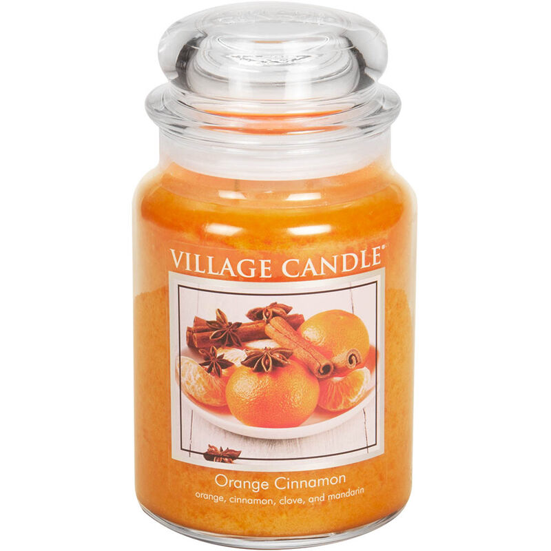 Orange Cinnamon Candle