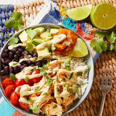 Cilantro Lime Rice Bowls