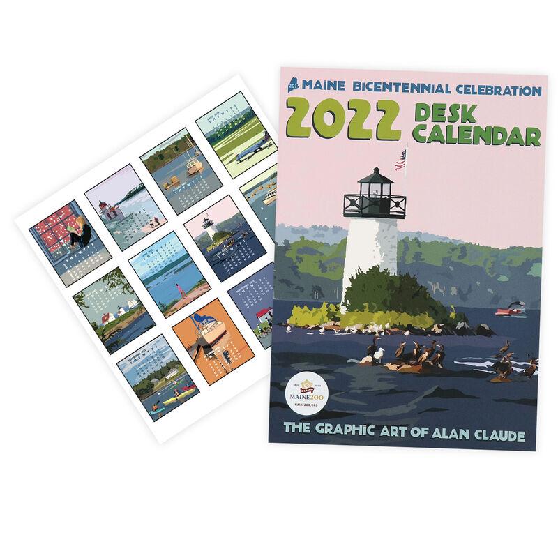 Alan Claude 2022 Poster Calendar