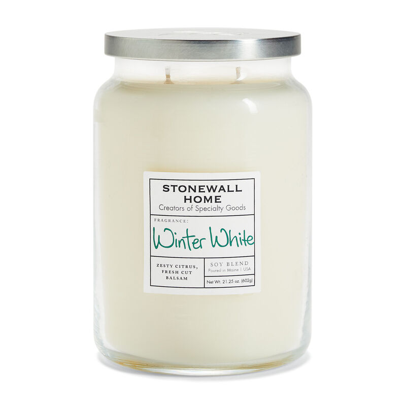 Stonewall Home Winter White Candle Collection