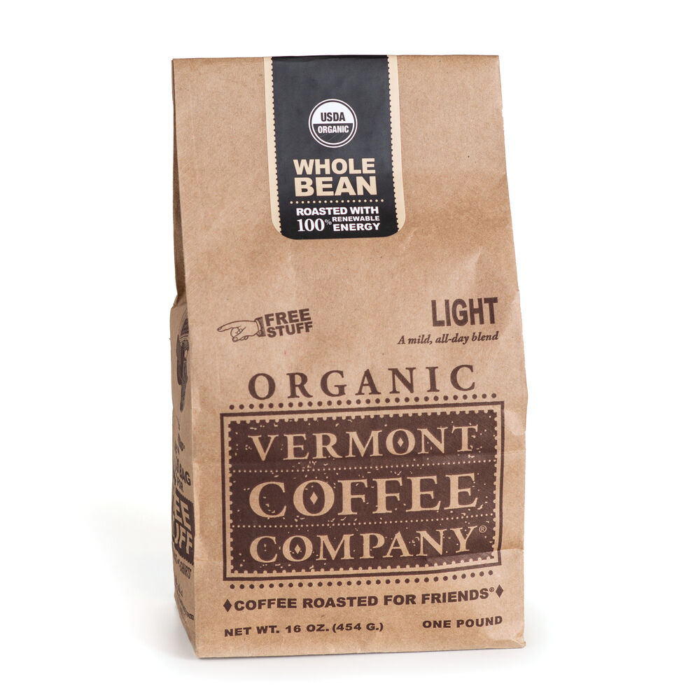 Light Whole Bean Coffee 16oz image number 0
