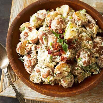 Horseradish Peppercorn Potato Salad