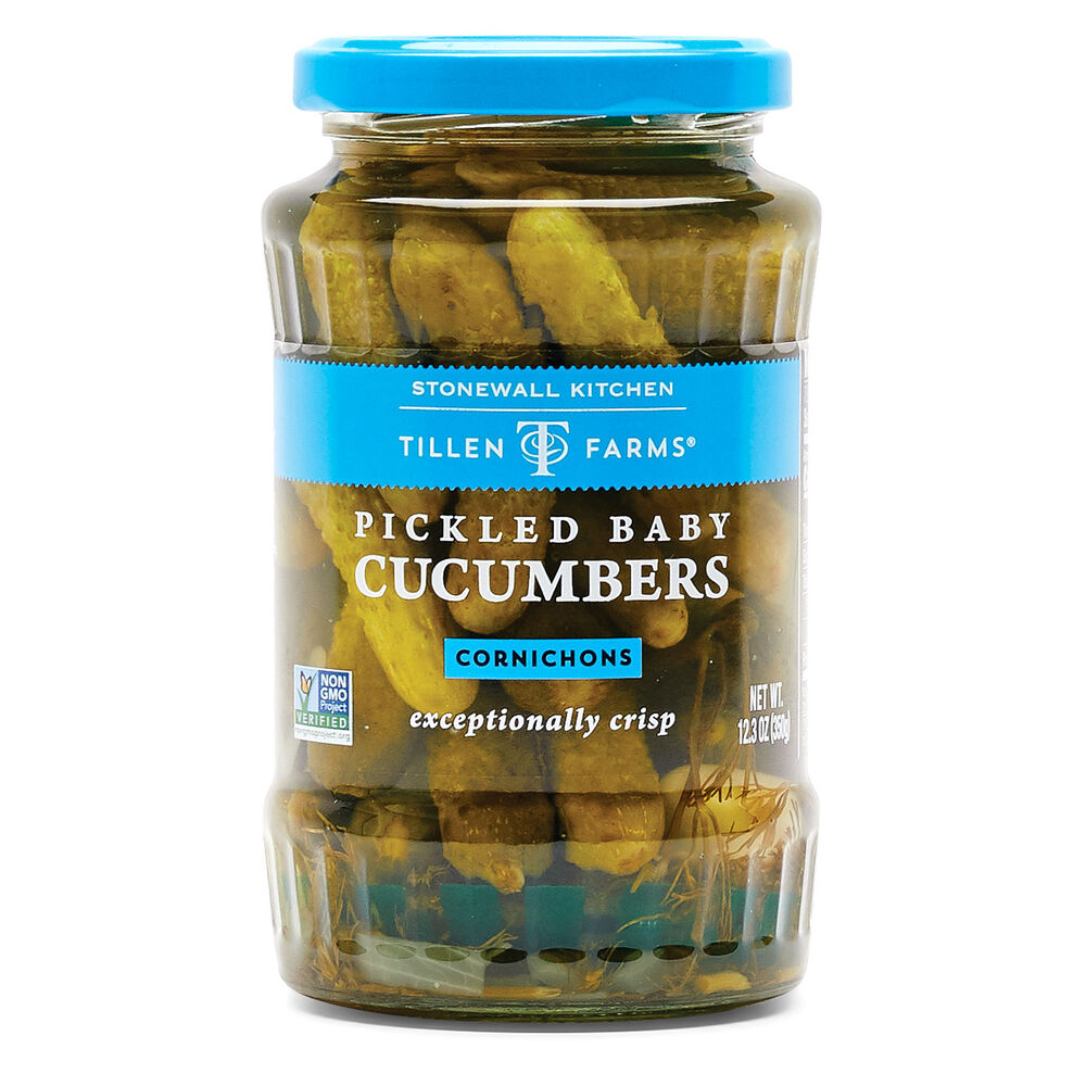 Pickled Baby Cucumbers image number 0