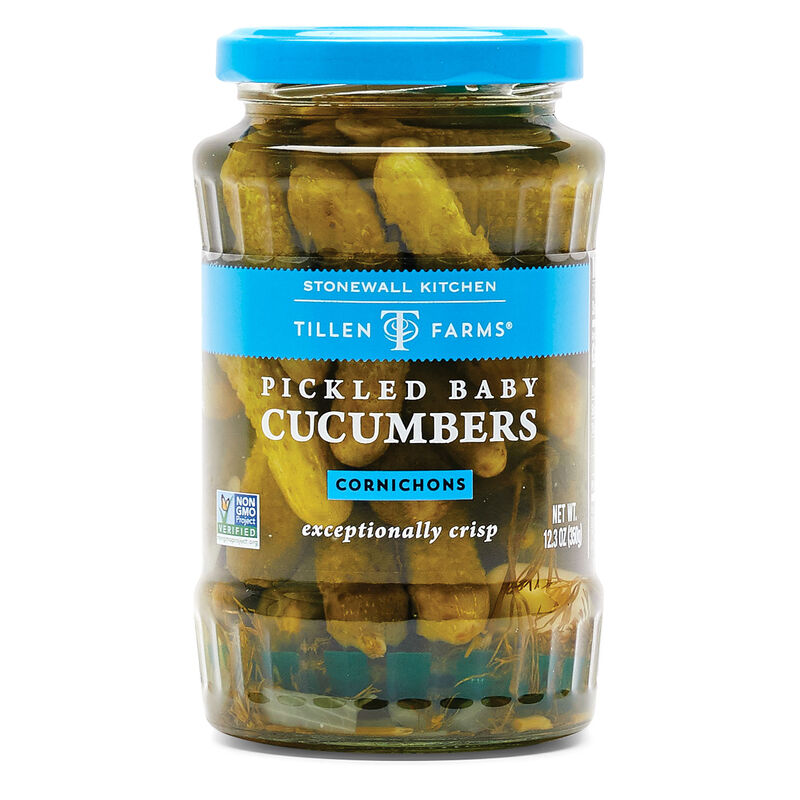 Pickled Baby Cucumbers