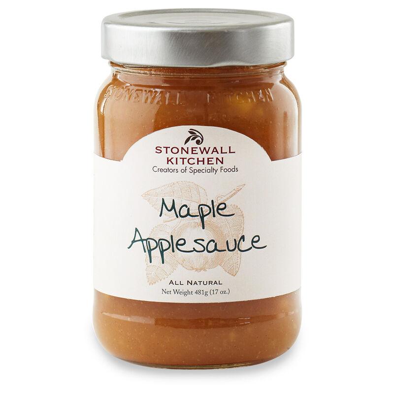 Maple Applesauce