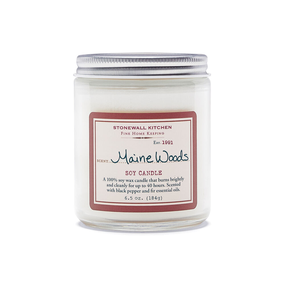 Maine Woods Soy Candle image number 0