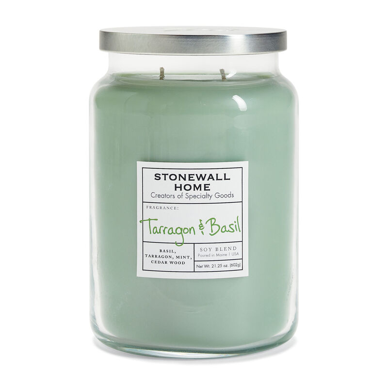 Stonewall Home Tarragon & Basil Candle Collection