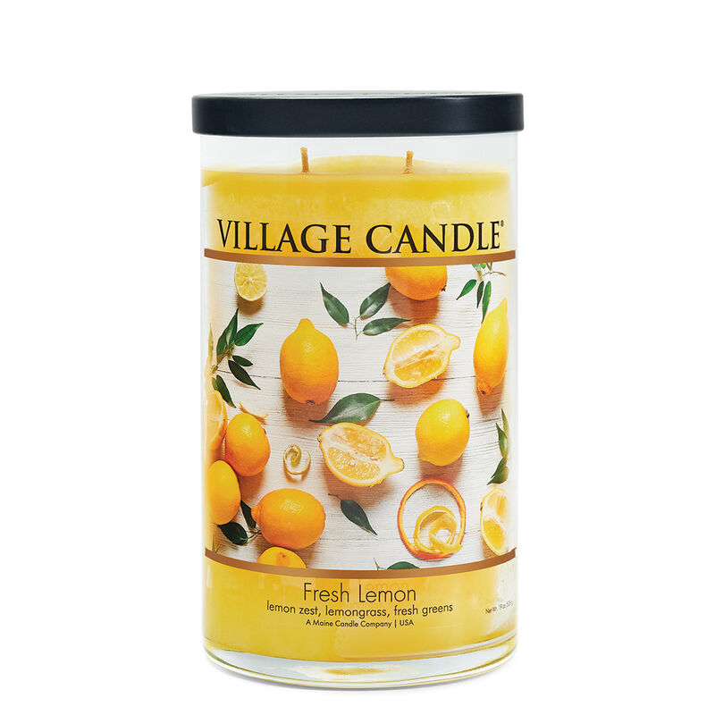 Fresh Lemon Candle - Decor Collection