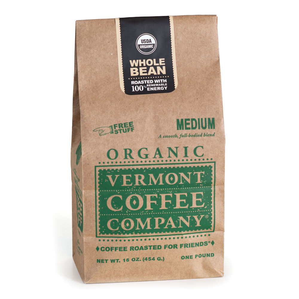 Medium Whole Bean Coffee 16oz image number 0