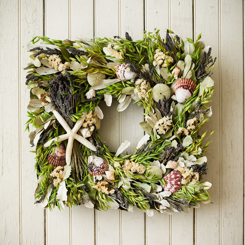 Lavender Beach House Wreath