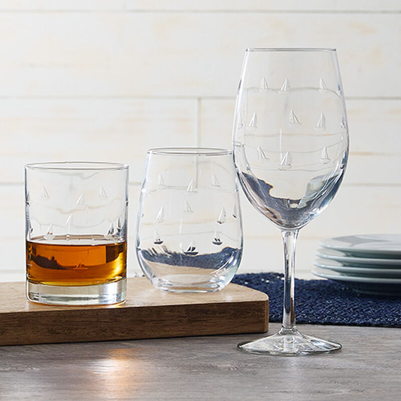 Sailing Glassware Collection