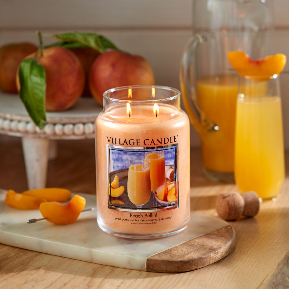 Peach Bellini Candle image number 5