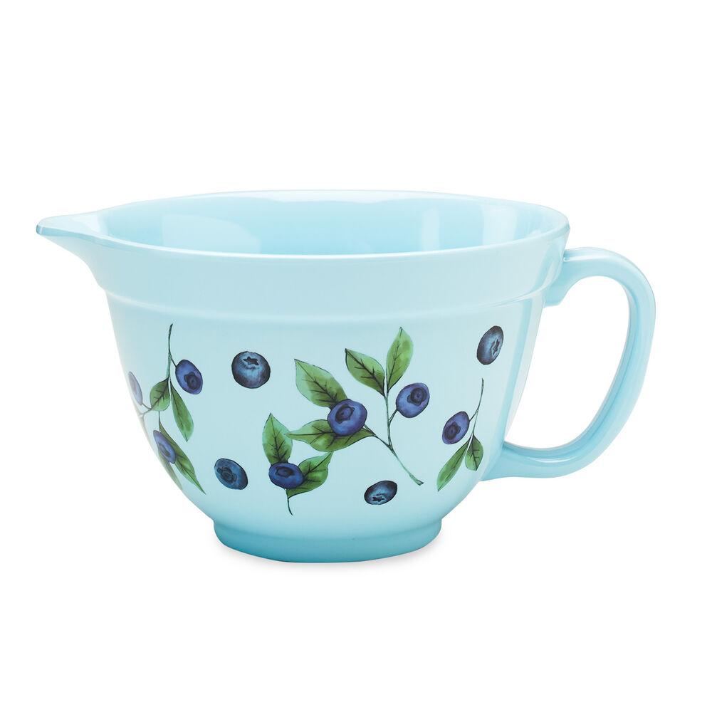 Blueberry Melamine Batter Bowl image number 0
