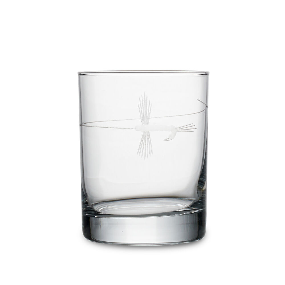 Fly Fishing Double Old Fashioned Glasses (Set of 4 image number 0
