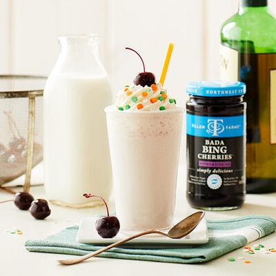 Irish Vanilla Cherry Milkshake