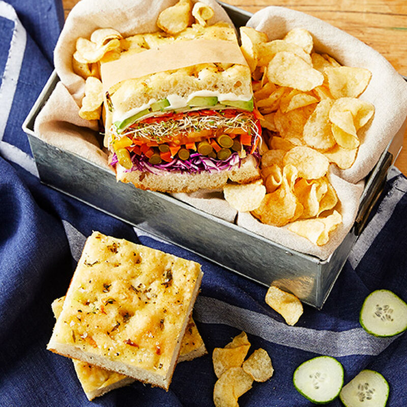 Picnic-Ready Veggie Sandwiches