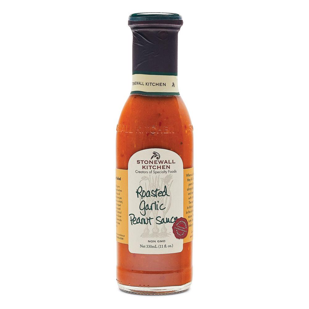 Roasted Garlic Peanut Sauce image number 0
