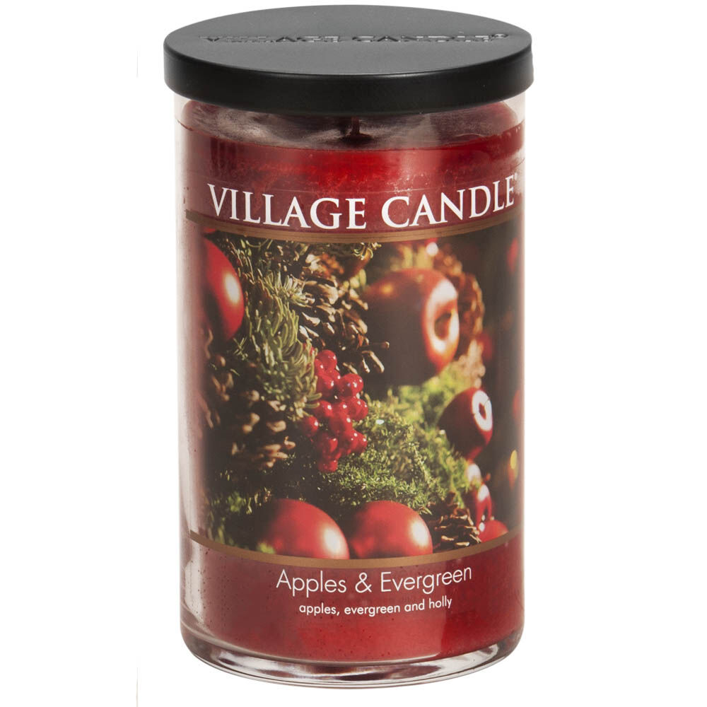 Apples & Evergreen Candle image number 0