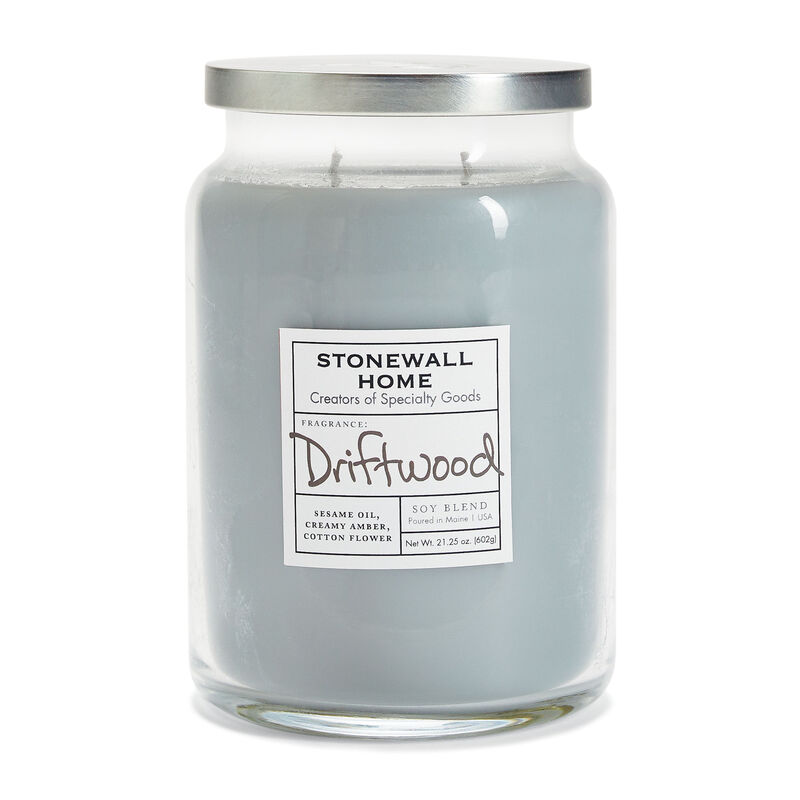 Stonewall Home Driftwood Candle Collection