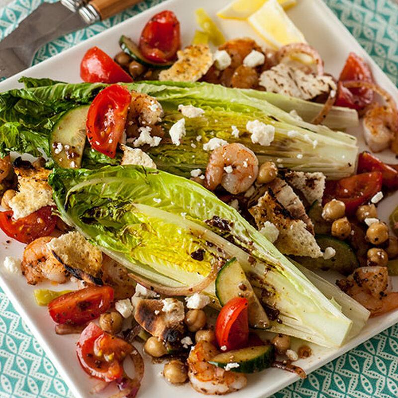 Grilled Fatoosh Salad
