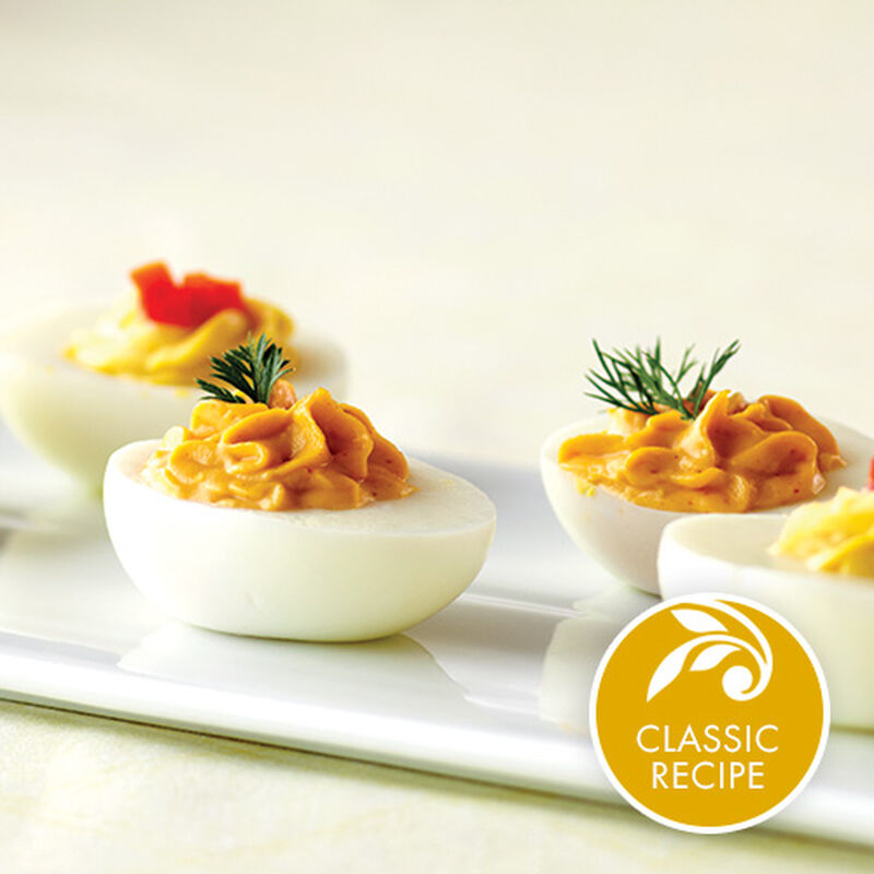 Aioli Deviled Eggs