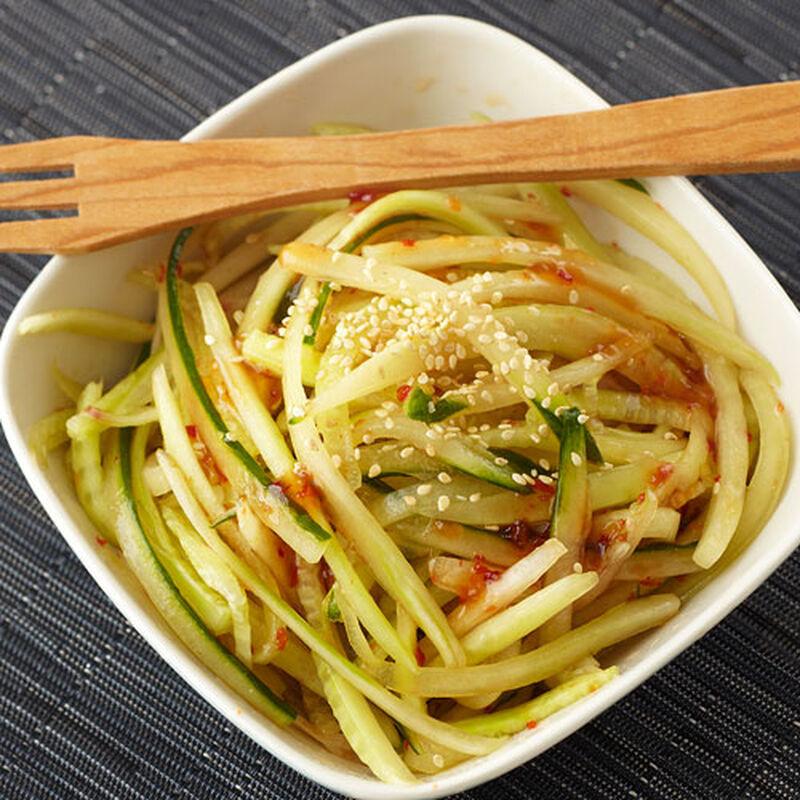 Chilled Cucumber Salad