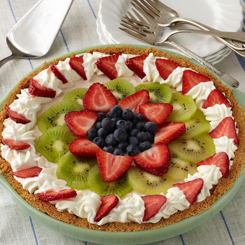 Strawberry Cheesecake Icebox Pie