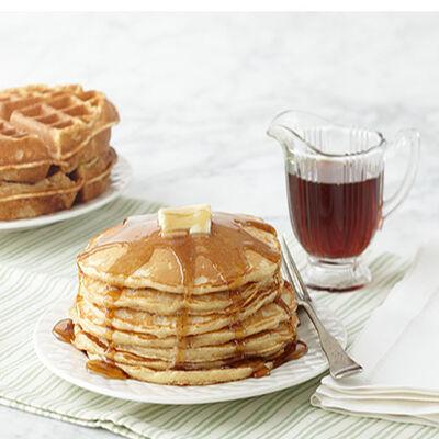Cinnamon Apple Farmhouse Pancakes
