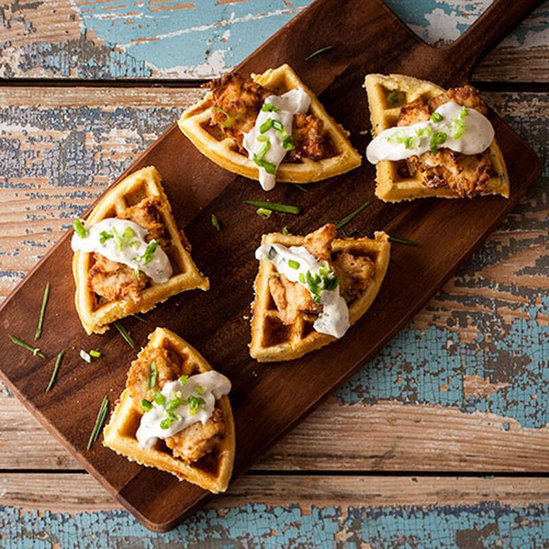 Cornbread & Fried Chicken Waffle