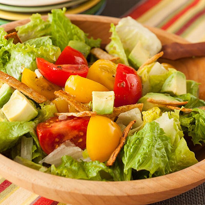 Tomato and Avocado Salad with Lime Vinaigrette