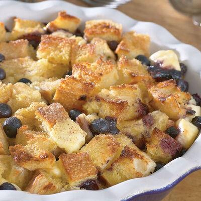 Blueberry Stuffed French Toast
