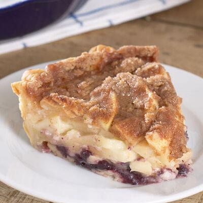 Apple & Sour Cream Pie