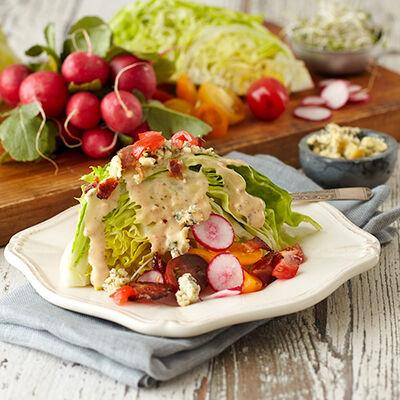 Bacon Ranch Wedge Salad