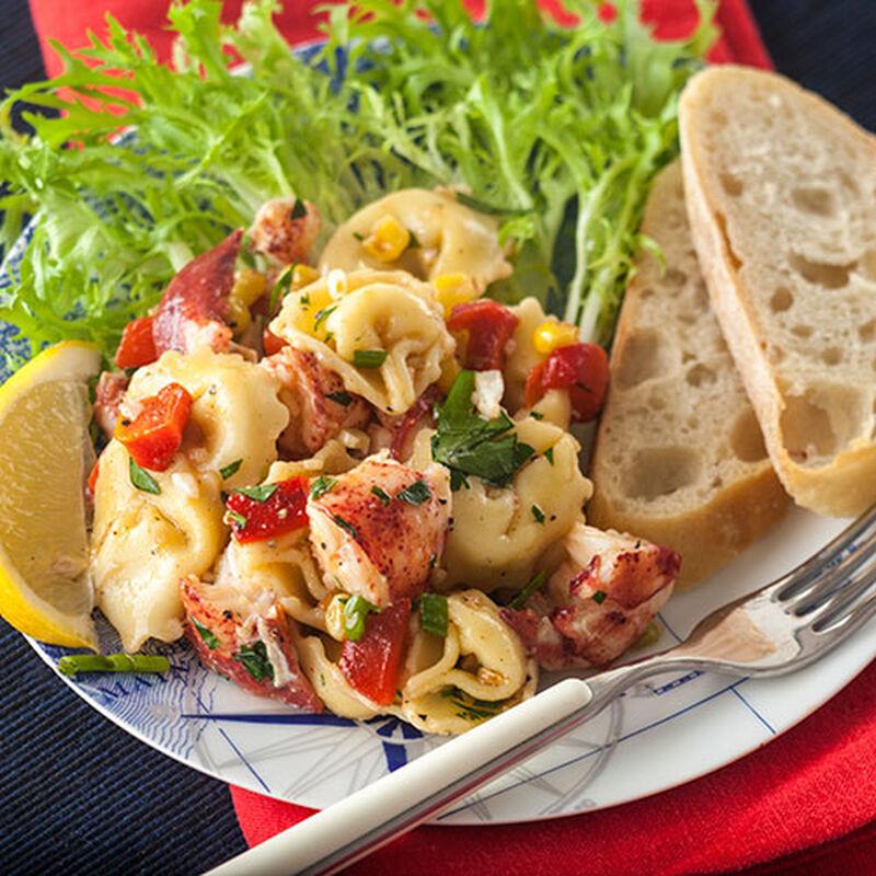 Lobster Tortellini Salad
