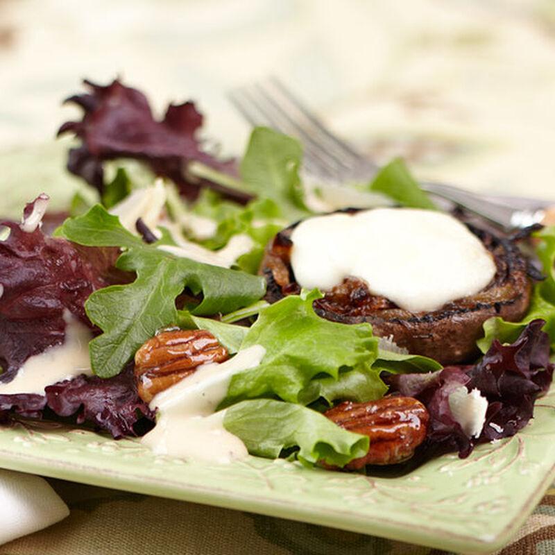 Roasted Portabella Mushroom Salad