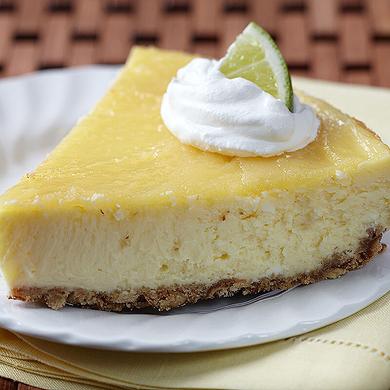 Key Lime Curd Tequila Cheesecake