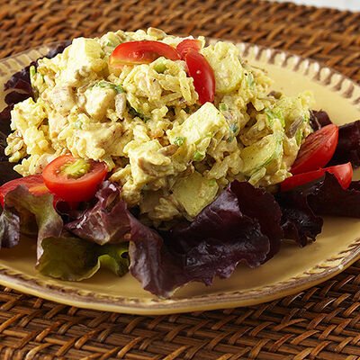 Old Farmhouse Chicken Salad with Apples and Rice