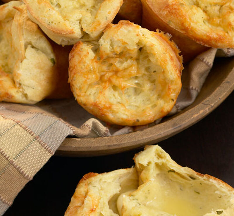 Miniature Blue Cheese Popovers