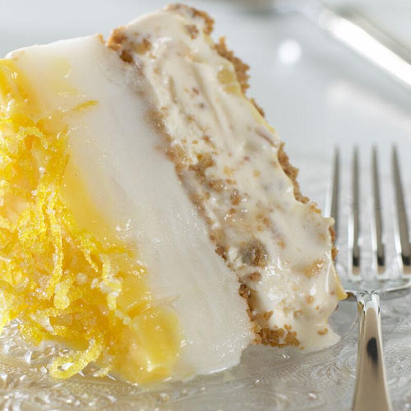 Lemon Ginger Ice Cream Torte
