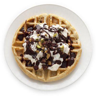 Cannoli Waffle