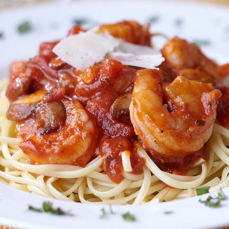 Shrimp with Spicy Tomato Salsa