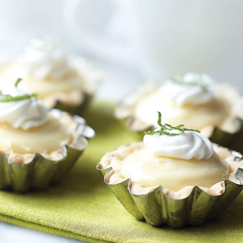Lemon Cheesecake Tartlets